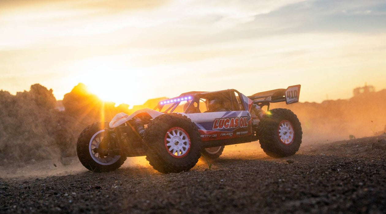 LOS03027T1 1/10 Tenacity DB Pro 4WD Desert Buggy Brushless RTR with Smart, Lucas Oil
