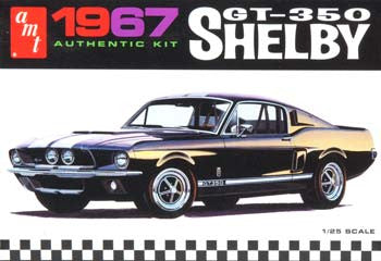 1/25 '67 Shelby GT350 Color