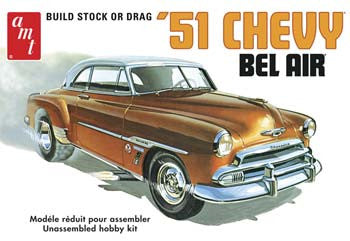 AMT862 1/25 '51 Chevy Bel Air