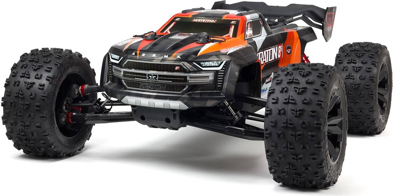 ARA110002T2 1/5 KRATON 4X4 8S BLX Brushless Speed Monster Truck RTR, Orange[2020 Model]2 year warranty on ELECTRONICS