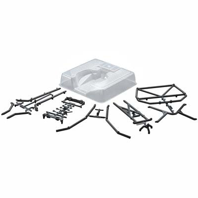 AX80046 Roll Cage Flat Bed SCX10