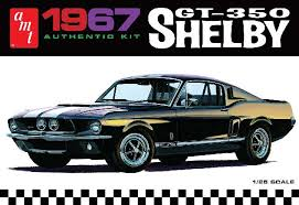 1/25 '67 Shelby GT350 White
