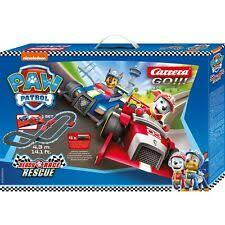 CARRERA 63514 Paw Patrol - Ready Race Rescue **** YOU WILL NEED THIS PART # CAR61537 TO PLUG IT IN TO THE WALL