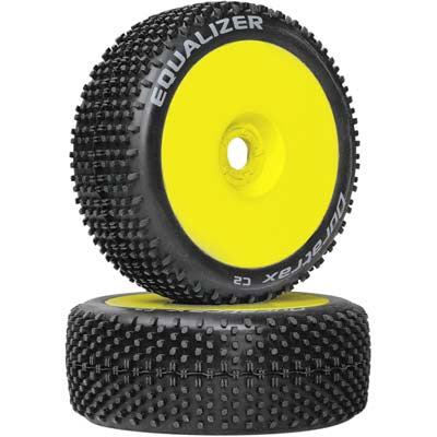 DTXC3647 Equalizer Buggy Tire C2 Mounted Yellow (2)