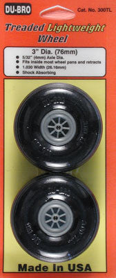 "DUB300TL TREAD LITE WHEELS 3"" (2)"