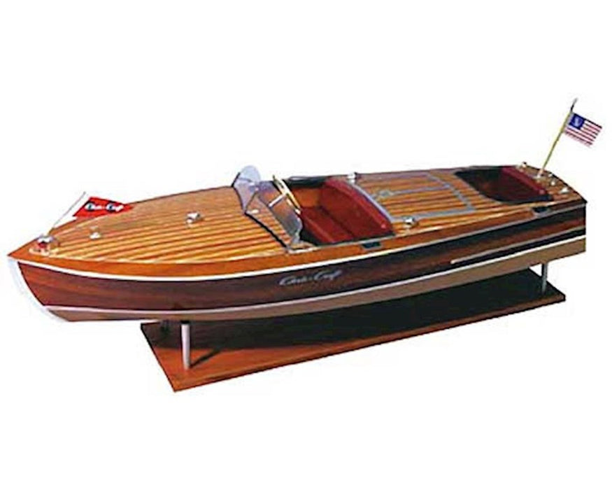 DUM1249 1949 19' Chris Craft Racing Runabout Boat Kit