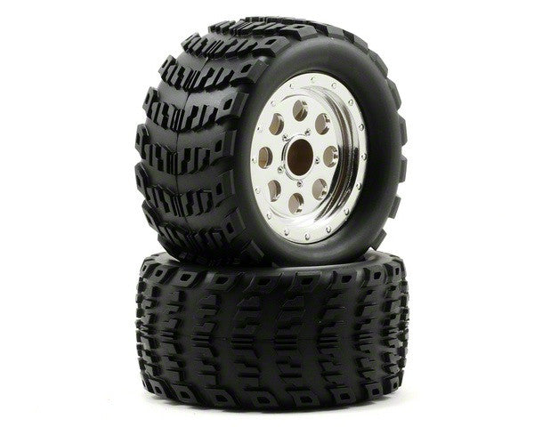 ECX2014 MTD Wheel/Tire (2): Ruckus-In Store Only
