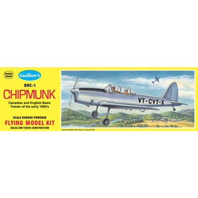 GUI903 Guillow DeHavilland Chipmunk