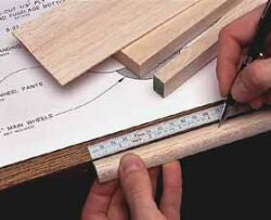 HCAR0465 48 Adhesive Bench Ruler