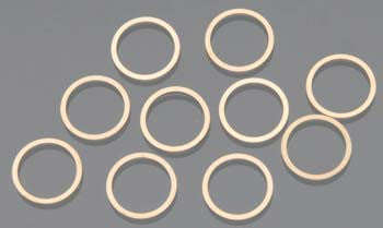 HPIZ891 Washer 10x12x0.1mm Copper (10)