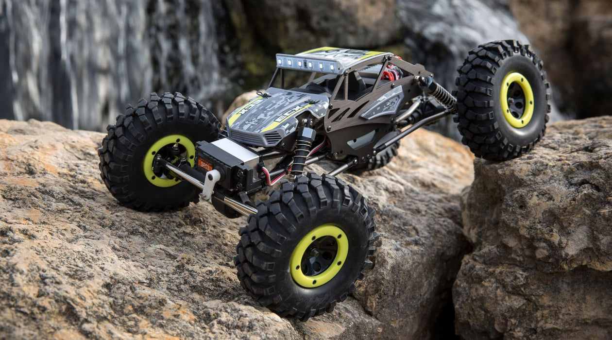 ECX01015Y 1/18 Temper 4WD Gen 2 Brushed RTR, Yellow