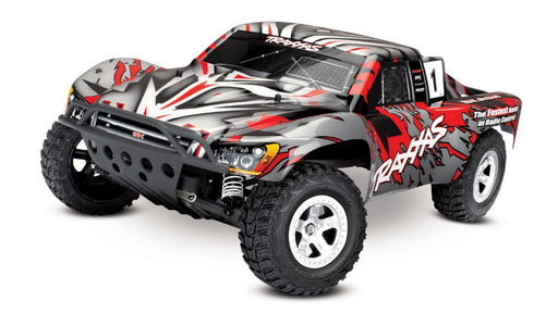 TRA58024 REDX Slash 1/10 Scale 2WD RTR w/ 2.4 GHz