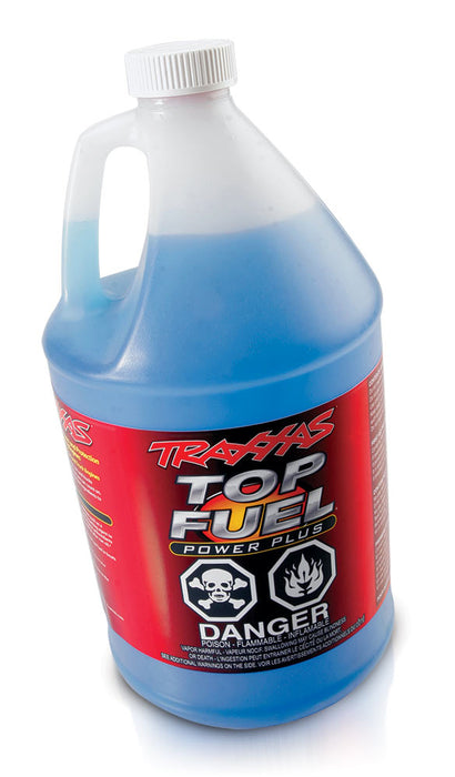TRA5080 Traxxas Top Fuel Power Plus 33% Nitro Fuel (Gallon)