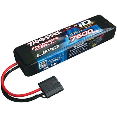 TRA2869X 7600mAh 7.4v 2-Cell 25C LiPo Battery
