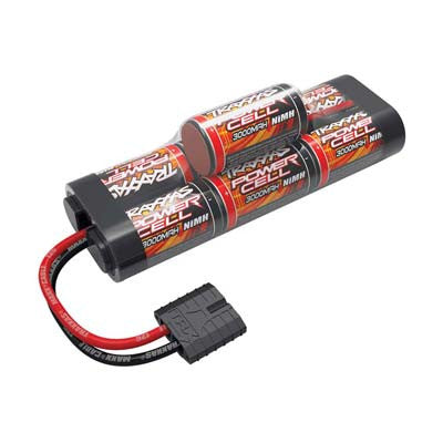 TRA2926X Battery, Power Cell, 3000mAh (NiMH, 7-C hump, 8.4V)