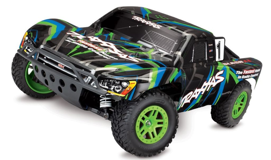 TRA680541  Slash 4X4 1/10 4WD XL-5 RTR Short Course Truck