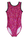 Leap Gear Fuchsia Mermaid Gymnastics Leotard