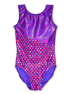 Leap Gear Switch/ Purple Mermaid Gymnastics Leotard