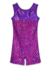 Leap Gear Purple Mermaid Gymnastics Biketard