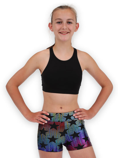 Leap Gear Star Bright Gymnastics Shorts