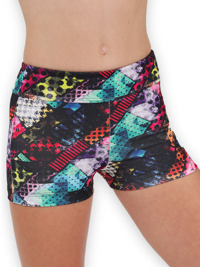 Leap Gear Traffic/Easy Care Gymnastics Shorts