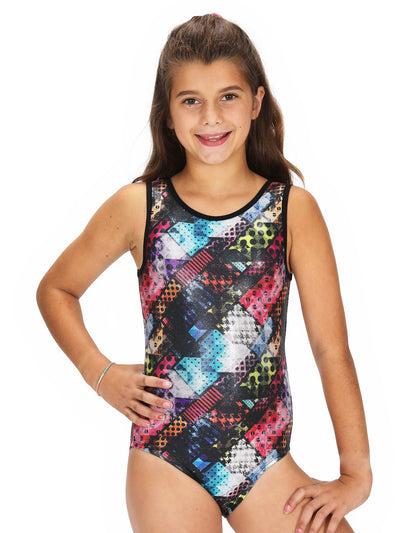 Leap Gear Traffic/Jewel Gymnastics Leotard