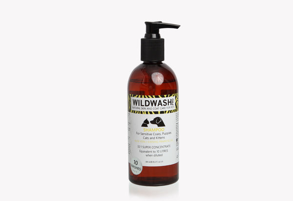 Sensitive Coats, Puppies, Cats & Kittens - Shampoo 300ml