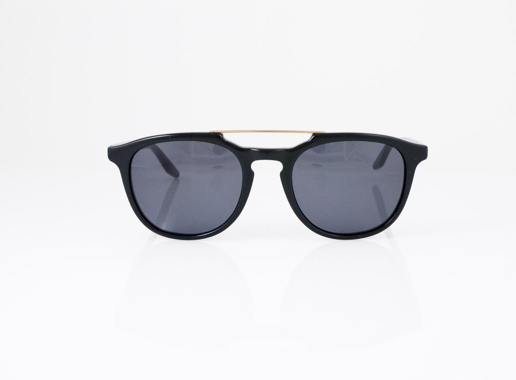Barton Perreira Rainey Sunglasses in Black, front view, from Specs Optometry