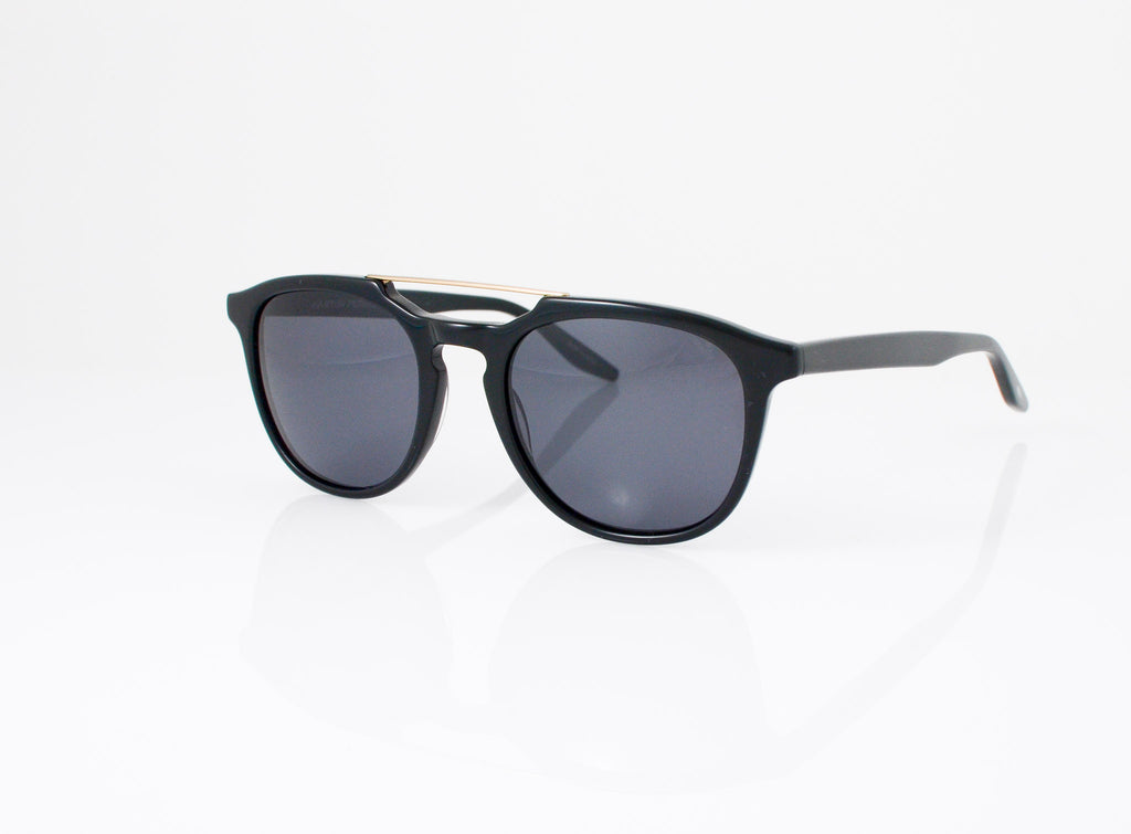 Barton Perreira Rainey Sunglasses in Black, side view, from Specs Optometry