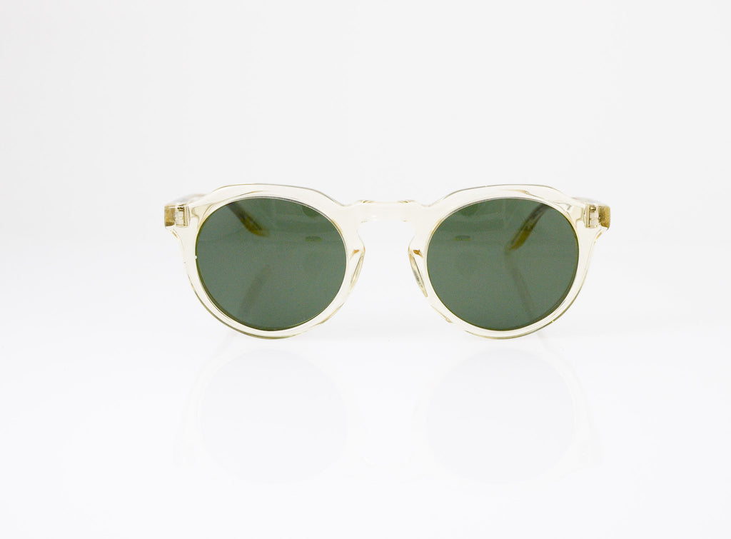 Barton Perreira Ascot Sunglasses in Champagne, front view, from Specs Optometry