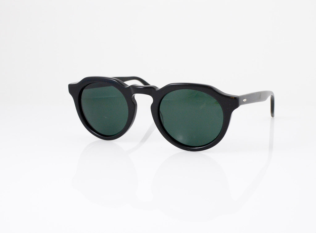 Barton Perreira Ascot Sunglasses in Black, side view, from Specs Optometry
