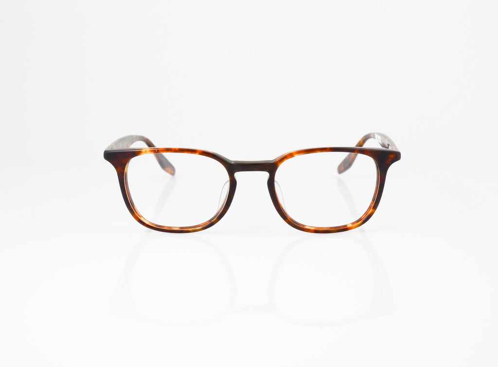 Barton Perreira Woody Eyeglasses in Matte Chestnut, front view, from Specs Optometry