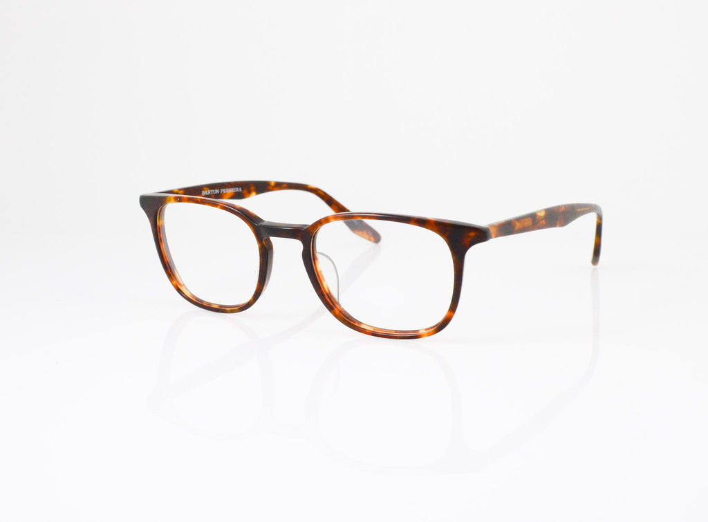 Barton Perreira Woody Eyeglasses in Matte Chestnut, side view, from Specs Optometry