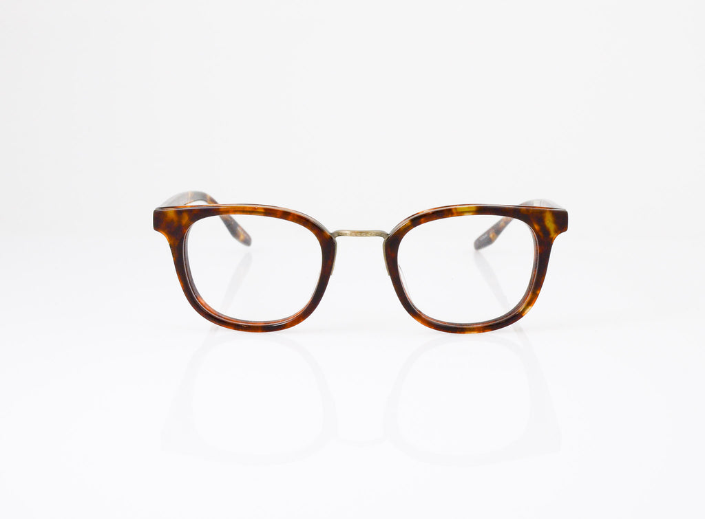 Barton Perreira Quinn Eyeglasses in Chestnut, front view, from Specs Optometry