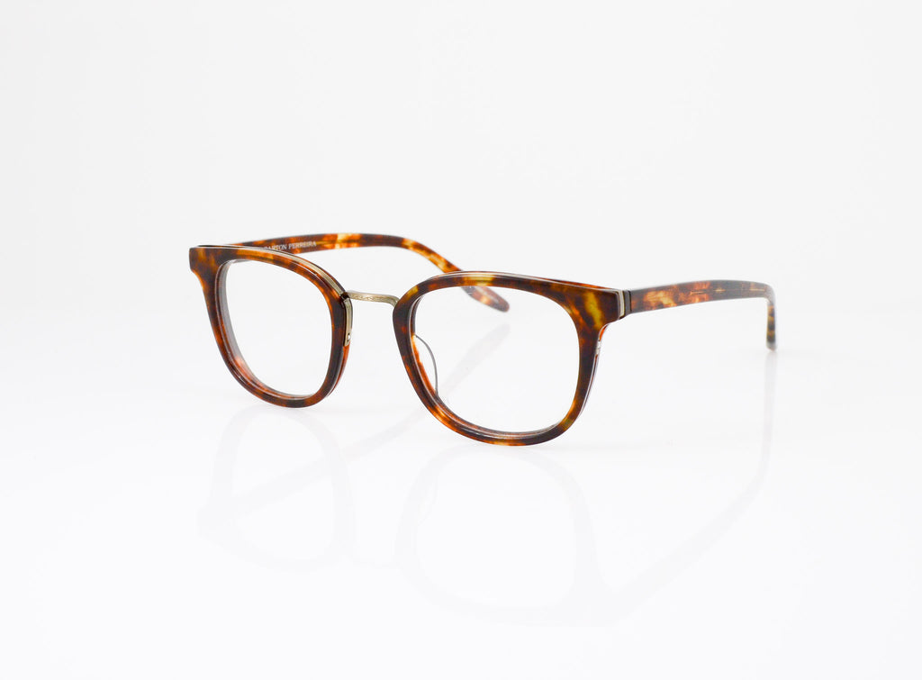 Barton Perreira Quinn Eyeglasses in Chestnut, side view, from Specs Optometry