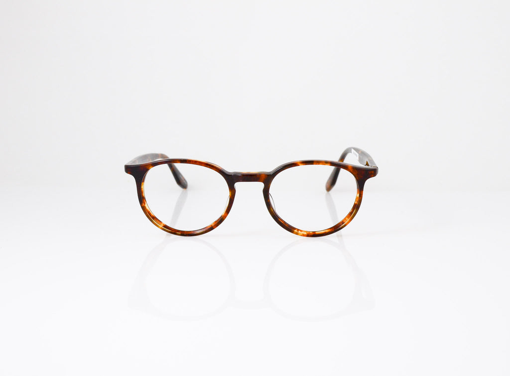 Barton Perreira Norton Eyeglasses in Chestnut, front view, from Specs Optometry