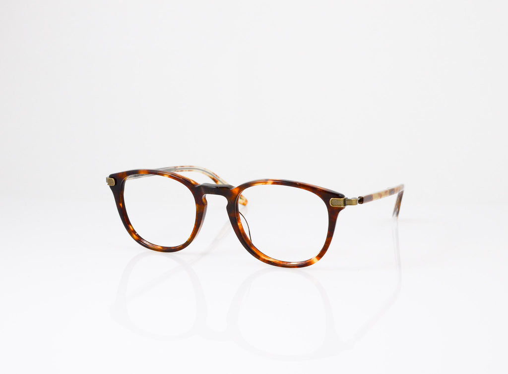 Barton Perreira Kemp Eyeglasses in Chestnut, side view, from Specs Optometry
