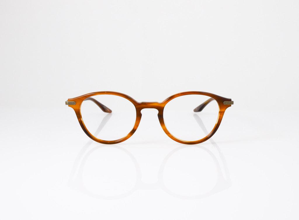 Barton Perreira Geist Eyeglasses in Umber Tortoise, front view, from Specs Optometry