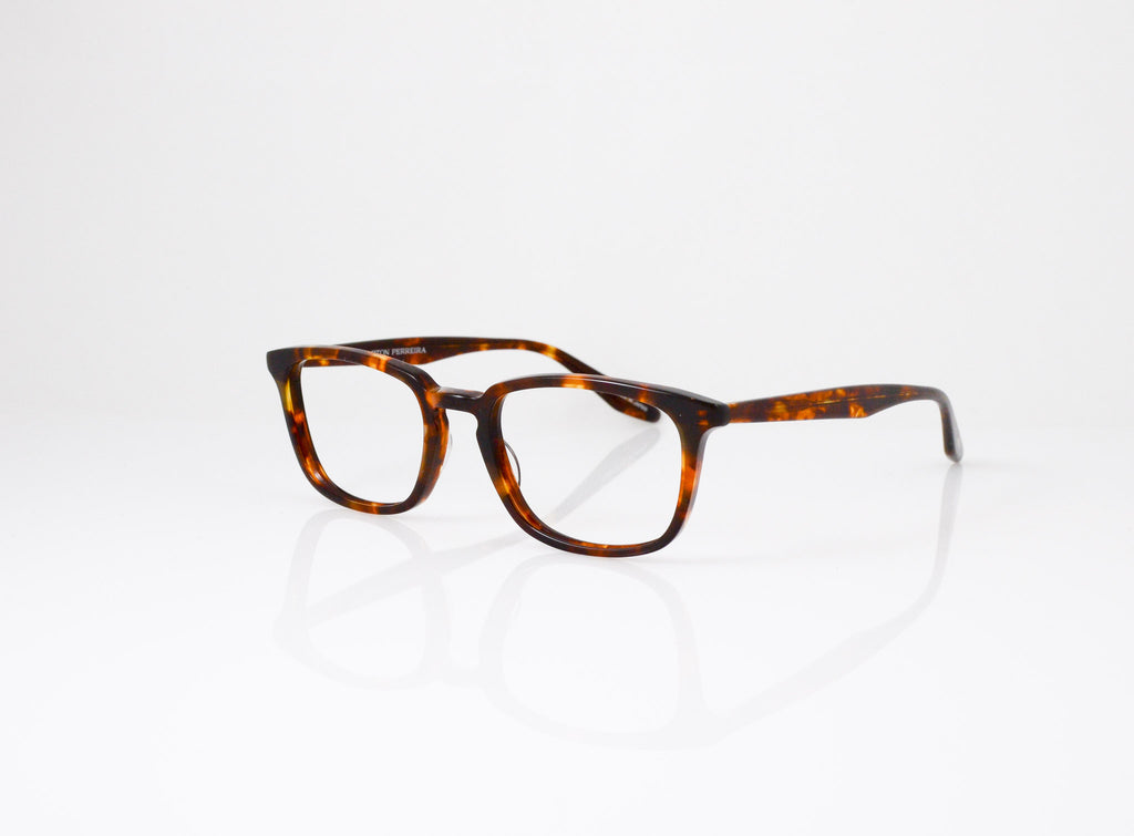 Barton Perreira Cagney Eyeglasses in Chestnut, side view, from Specs Optometry