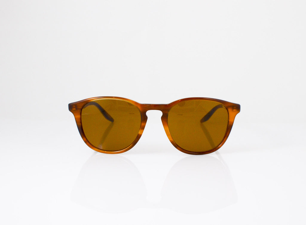 Barton Perreira Plimsoul Sunglasses in Umber Tortoise, front view, from Specs Optometry
