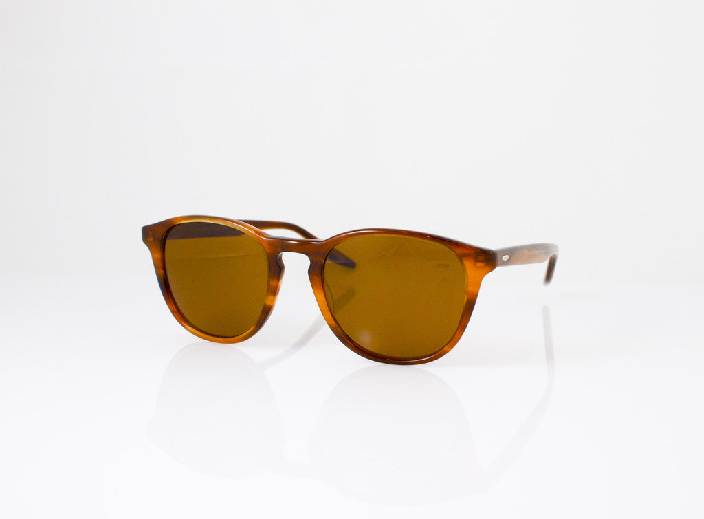 Barton Perreira Plimsoul Sunglasses in Umber Tortoise, side view, from Specs Optometry