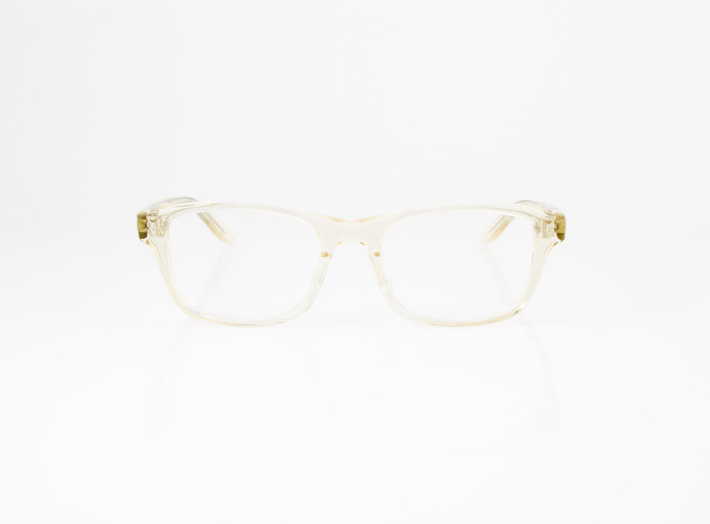 Barton Perreira Curtis Eyeglasses in Champagne, front view, from Specs Optometry