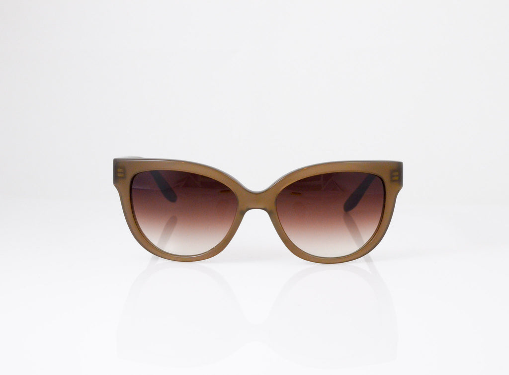 Barton Perreira Vandella Sunglasses in Cafe Latte, front view, from Specs Optometry