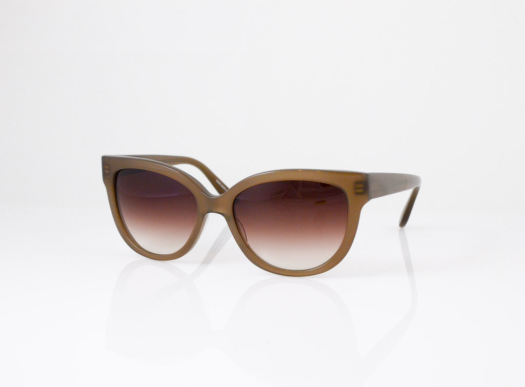 Barton Perreira Vandella Sunglasses in Cafe Latte, side view, from Specs Optometry
