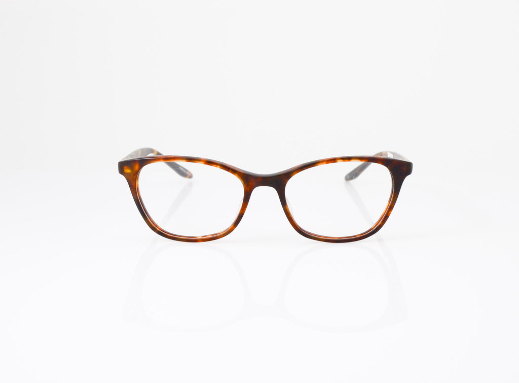Barton Perreira Hettie Eyeglasses in Matte Chestnut, front view, from Specs Optometry