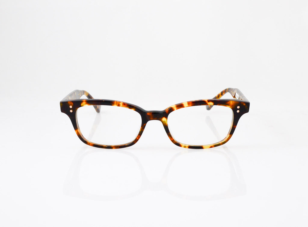 DITA Courante Eyeglasses in Shiny Tokyo Tortoise, front view, from Specs Optometry