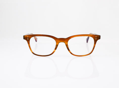 DITA Stranger Eyeglasses in Amber Maple, front view, from Specs Optometry