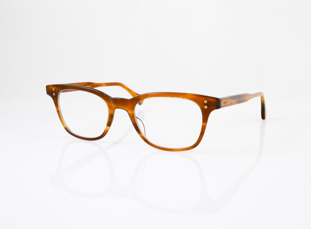 DITA Stranger Eyeglasses in Amber Maple, side view, from Specs Optometry