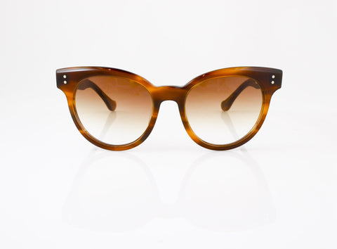 DITA Sunspot Sunglasses in Amber Maple, front view, from Specs Optometry