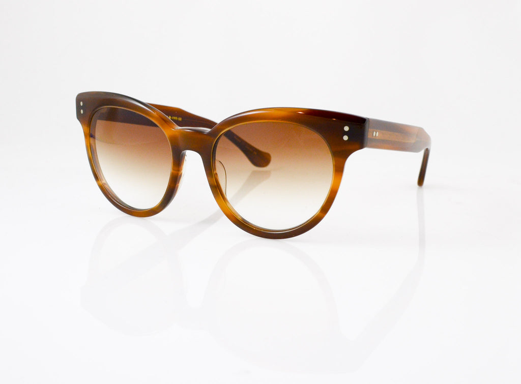 DITA Sunspot Sunglasses in Amber Maple, side view, from Specs Optometry